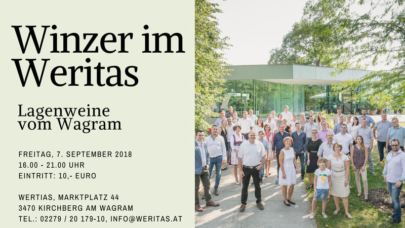 Winzer im Weritas, 7. September 2018